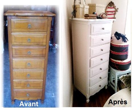 Repeindre un meuble vernis p tisse patine for Repeindre un meuble vernis