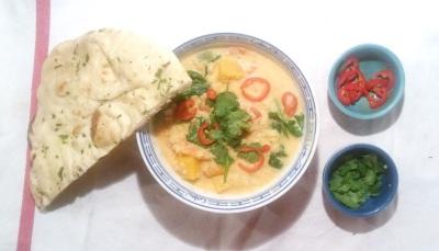 Curry Végétarien Butternut 14 ret