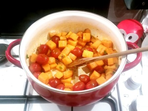 Curry Végétarien Butternut 9 ret